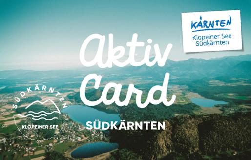 Aktiv Card Klopeiner See - Suedkaernten