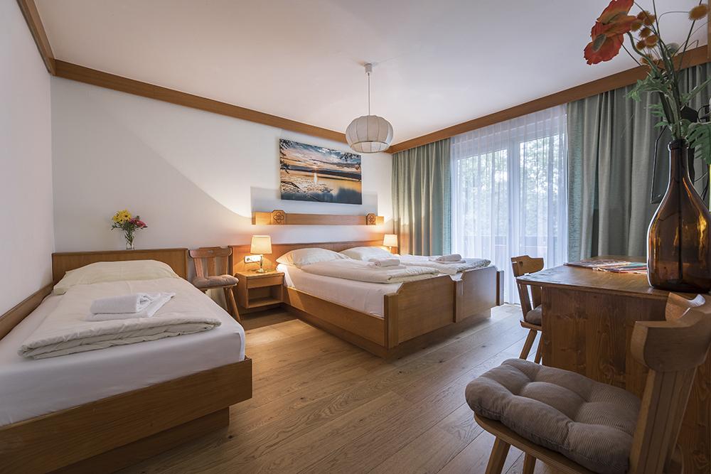 Hotel Ariell – 3-Bett Zimmer